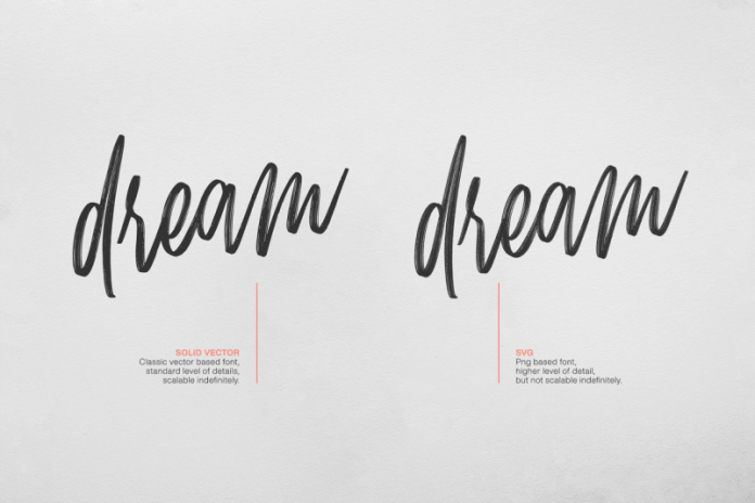 Mellow - Brush & SVG Font