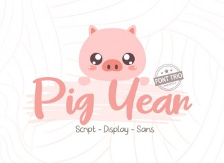 Pig Year 3 Font