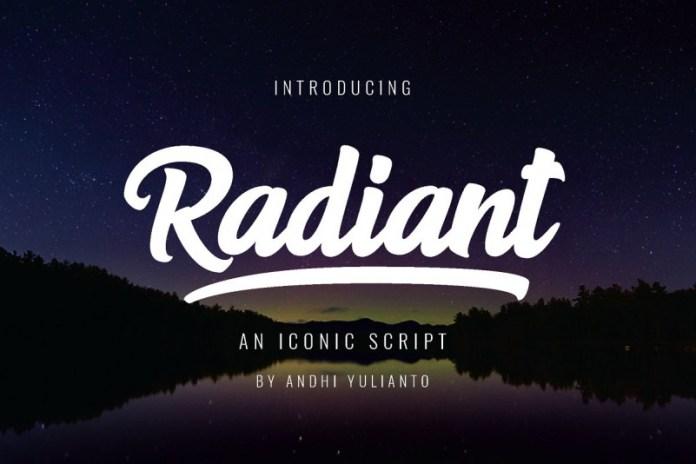 Radiant Script Font