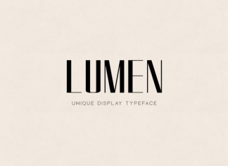LUMEN - Display Font
