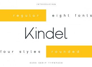 Kindel - Sans Serif Typeface