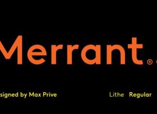 Merrant Font Family