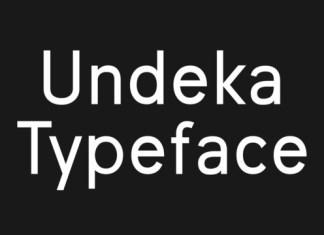 Undeka Font Family