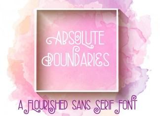 ZP Absolute Boundaries font