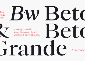 Bw Beto Font Family