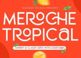 MEROCHE Font Family
