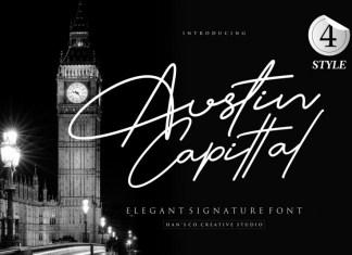 Austin Signature Font