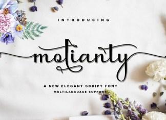 molianty Script Font