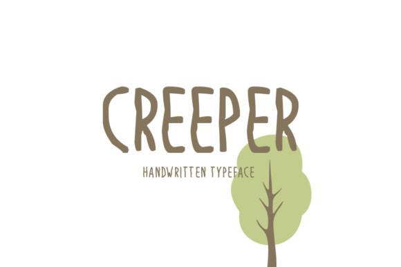 Creeper Font