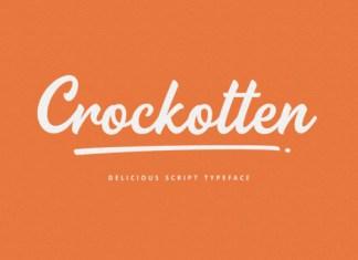 Crockotten Font