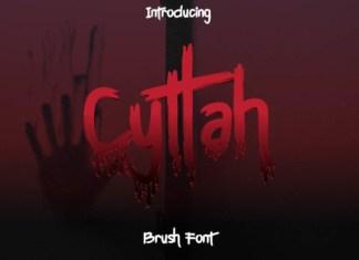 Cyttah Font