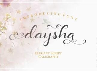 Daysha Font