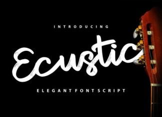 Ecustic Font