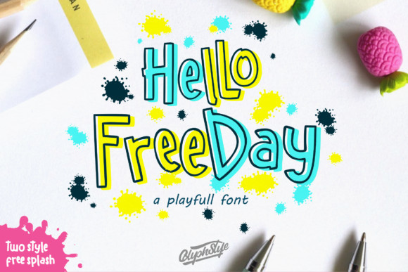 Hello Freeday Font