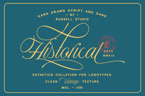 Historical Duo Font