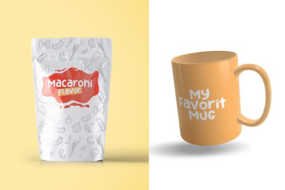 Macaroni Flavor Font