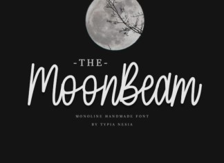 MoonBeam Font