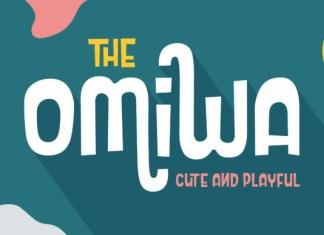 Omiwa Font