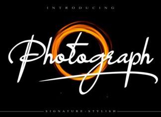 Photograph Font
