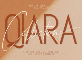 Qiara Duo Font