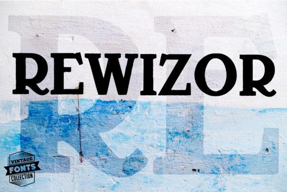 Rewizor Font
