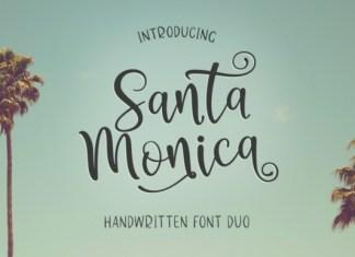 Santa Monica Duo Font