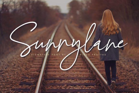 Sunnylane Font