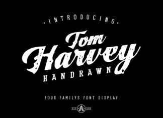 Tom Harvey Font