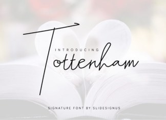Tottenham Font
