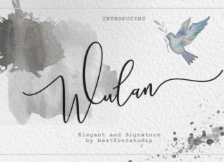 Wulan Script Font