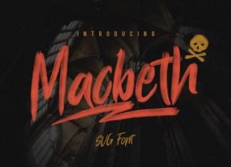 Macbeth Typeface Font