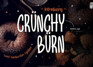 Crunchy Burn Font