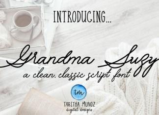 Grandma Suzy Font