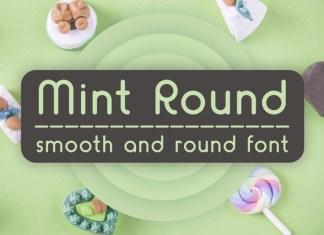 Mint Round Font