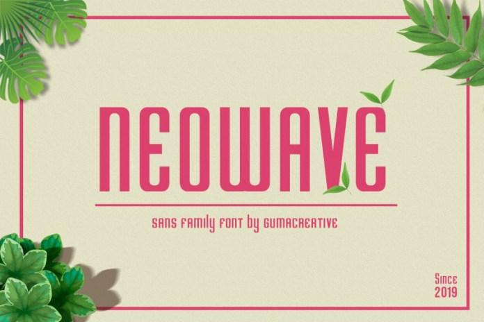 Neowave Font