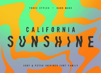 California Sunshine Font