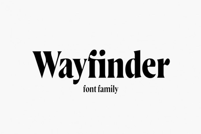Wayfinder CF warm vintage serif font