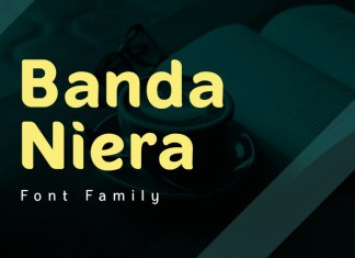 Banda Niera Font