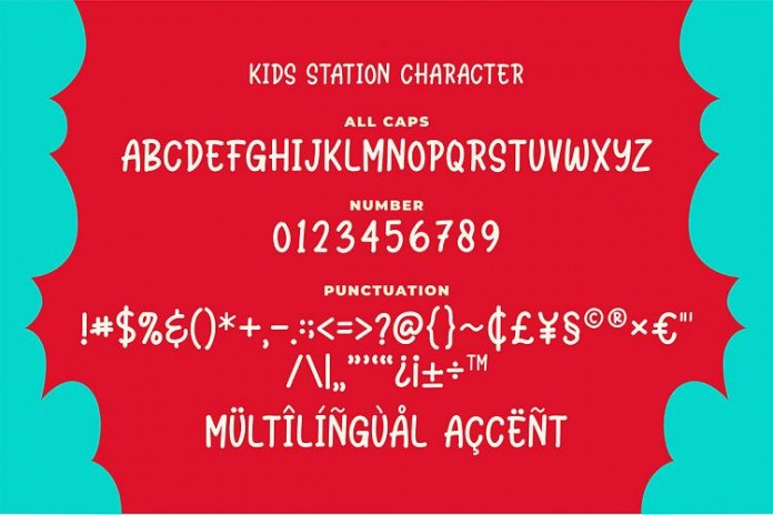 Station Kids - Cute Font