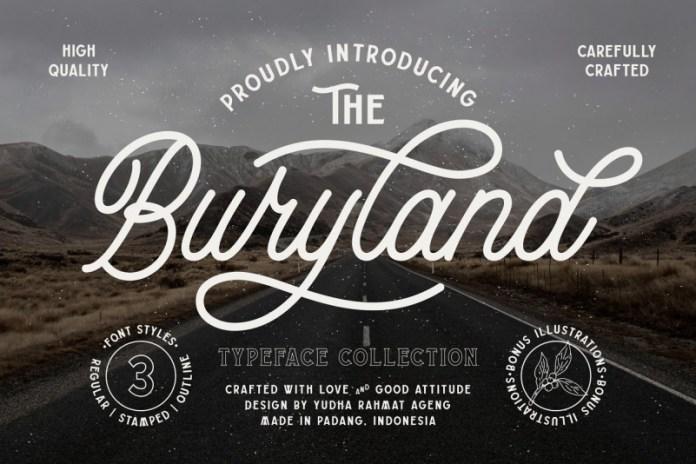 Buryland  Font