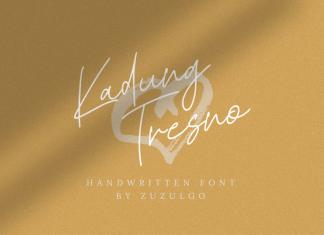 Kadung Tresno Font