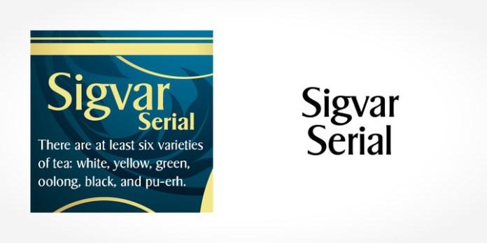 Sigvar Serial Font Family