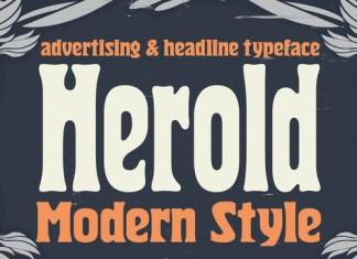 Herold Font Family