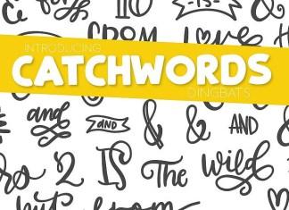 Catchwords Font