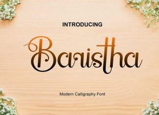 Baristha Font