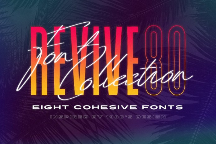 Revive 80 - Retro Font