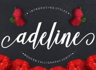 Adeline Font