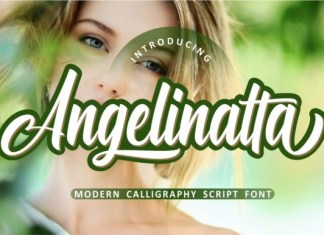 Angelinatta font