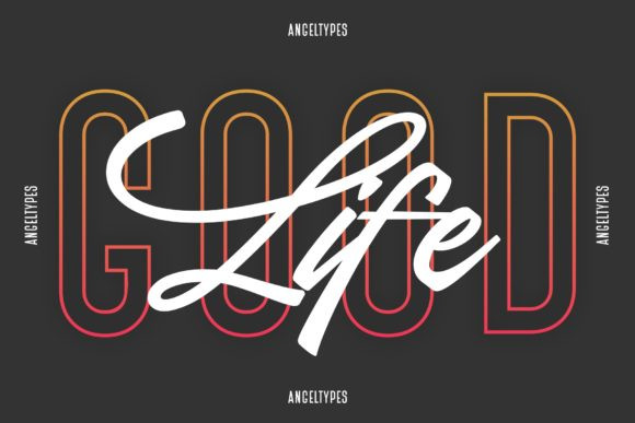 Angeltypes Font