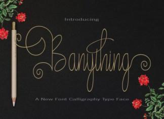 Banything Font